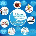 7 bon conseils pour bien dormir